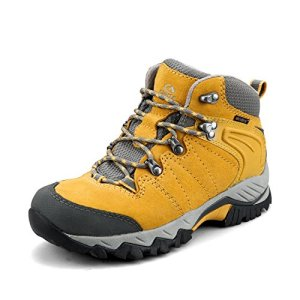Clorts Women's Hiker Leather Waterproof Hiking Boot Outdoor