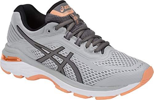ASICS GT-2000 6 Women's Running Shoe, Mid Grey/Carbon