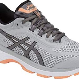 ASICS GT-2000 6 Women's Running Shoe, Mid Grey/Carbon