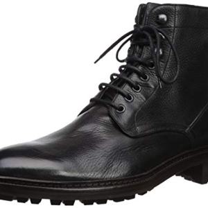 FRYE Men's Greyson LACE UP Combat Boot, Black