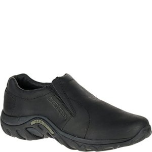 Merrell Men's Jungle Moc Leather Slip-On Shoe,Midnight Slip-On Shoe
