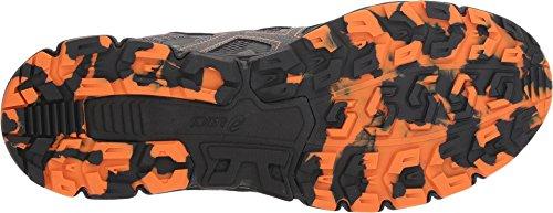 ASICS Men's Gel-Scram 4 Running Shoe ASICS 1011A045 Men's Gel-Scram 4 Running Shoe, Carbon/Lava Orange, 10 M US.