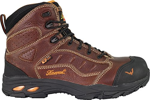 "Thorogood 804-4037 Men's VGS-300-8"" ASR SD Sport, Composite Safety Toe, Brown - 10 D(M) US"