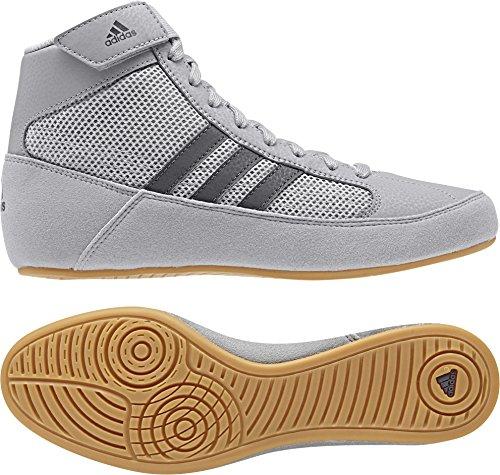 adidas Hvc2 Youth Light Onyx Dark Onyx Wrestling Shoes Onyx
