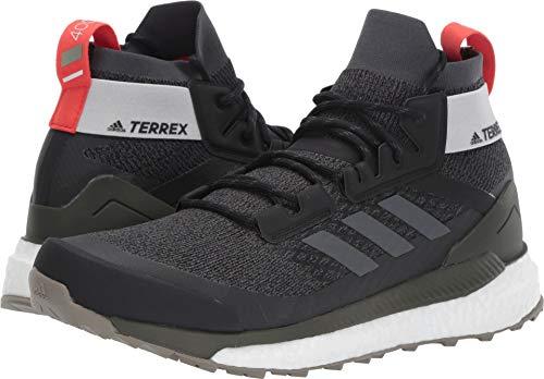 adidas outdoor Terrex Free Hiker Boot - Men's Black/Grey Six/Night Cargo, 9.5