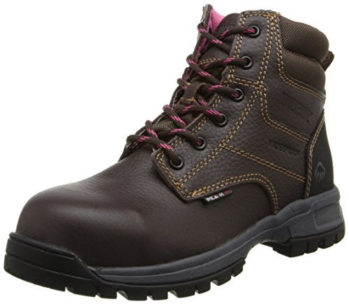 Wolverine Women's Piper Comp Safety Toe Boot-W, Brown