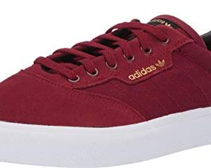 Adidas Skateboarding Men's 3MC Collegiate Burgundy/Core Black/Gold Metallic 10.5 D US