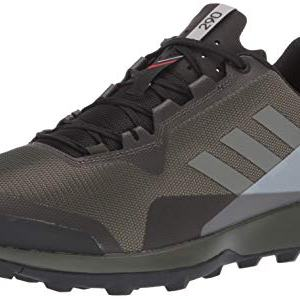 Adidas outdoor Men's Terrex CMTK Trail Running Shoe, Night Trace Cargo/Grey Two, 9 D US