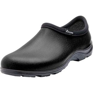 Sloggers Men's Waterproof Shoe with Comfort Insole, Black