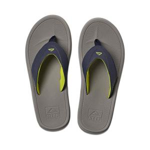 REEF Men's Sandals Modern, Grey/Navy