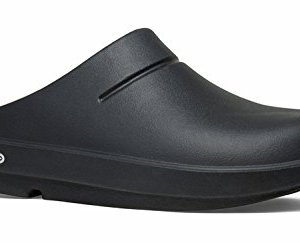 OOFOS OOcloog Clog, Black/Matte Finish