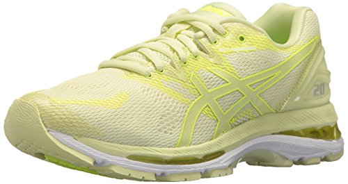 ASICS Women's Gel-Nimbus 20 Running Shoe, limelight/limelight/safety yellow