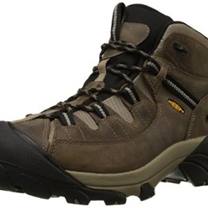 KEEN Men's Targhee II Mid Waterproof Hiking Boot,Shitake/Brindle