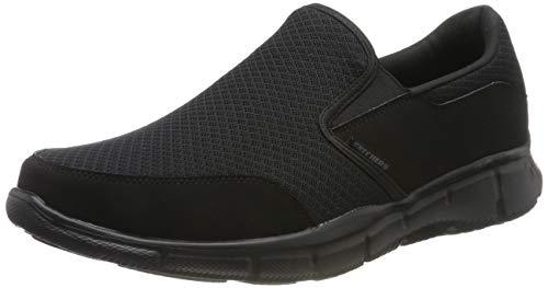 Skechers Men's Equalizer Persistent Slip-On Sneaker, Black