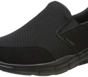 Skechers Men's Equalizer Persistent Slip-On Sneaker, Black