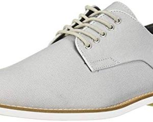 Calvin Klein Men's Aggussie Oxford, Blue Grey