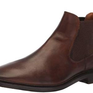 FRYE Men's Paul Chelsea Boot, Dark Brown