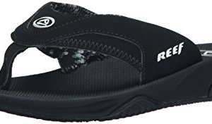 Reef Women's Fanning, Black, 8 M US