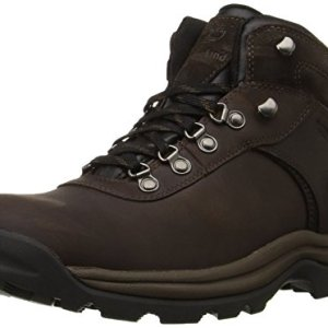 Timberland Men's Flume Waterproof Boot,Dark Brown,10 W US