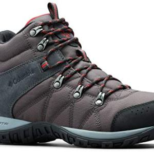 Columbia Men's Peakfreak Venture Boot , Shark, Mountain Red