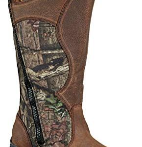 "Thorogood Men's Snake Bite 17"" Leather/Cordura Hunting Shoes, Mossy Oak Break Up Infinity, 8 M US"