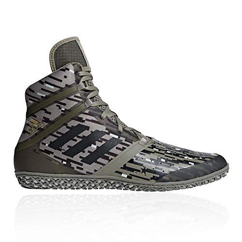 adidas Flying Impact Wrestling Shoe Green