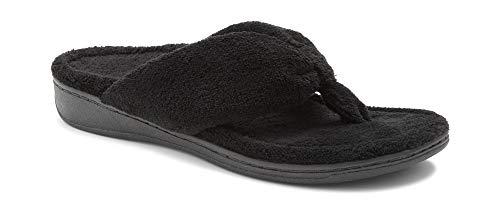 Vionic Women's Indulge Gracie Slipper - Ladies Toe-Post Thong Slippers