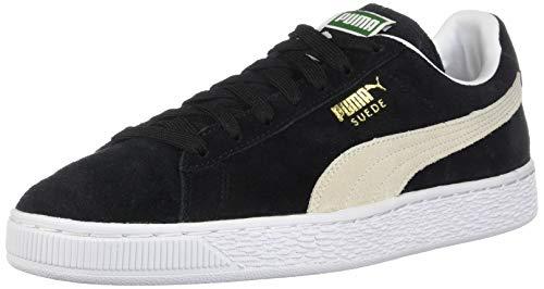 PUMA Suede Classic Sneaker,Black/White