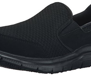 Skechers for Work Women's Gozard Walking Shoe, Black, 9 M US