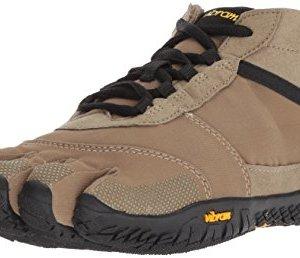 Vibram Five Fingers Men's V-Trek Trail Hiking Shoe (41 EU/8.5-9 US, Khaki/Black)