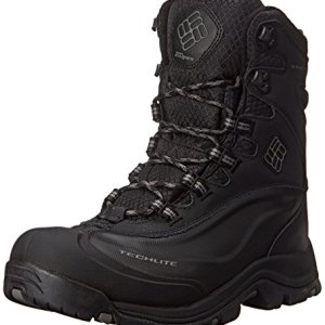 Columbia Men's Bugaboot Plus III Omni-M, Black/Charcoal-Wide