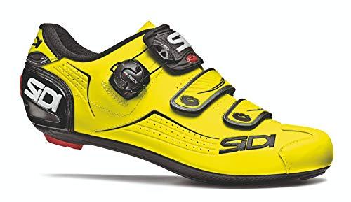 Sidi Men's Alba Carbon Cycling Shoes Flourescent Yellow/Black 46