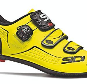 Sidi Men's Alba Carbon Cycling Shoes Flourescent Yellow/Black 46