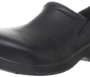 Timberland PRO Women's Newbury ESD Slip-On,Black