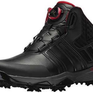 adidas Men's Climaproof BOA Golf Shoe, Black