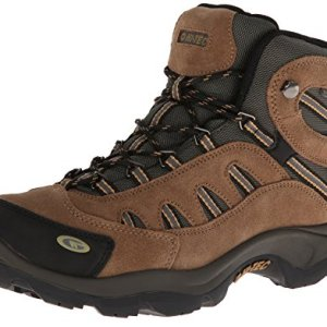 Hi-Tec Men's Bandera Mid Waterproof Hiking Boot, Bone/Brown/Mustard