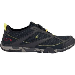 OLUKAI Eleu Trainer - Men's Black/Black 10