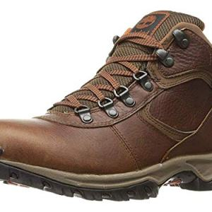 Timberland Men's Mt. Maddsen Mid Leather Wp, Brown Full Grain