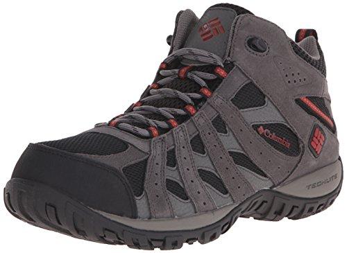 Columbia Men's Redmond Waterproof Mid Hiking Boot, Black