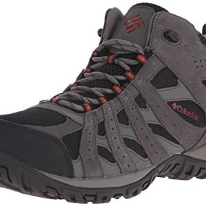 Columbia Men's Redmond Waterproof Mid Hiking Boot, Black