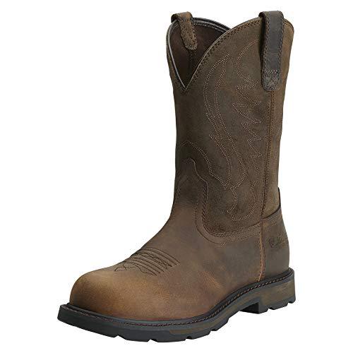 Ariat Men's Groundbreaker Pull-On Steel Toe Work Boot