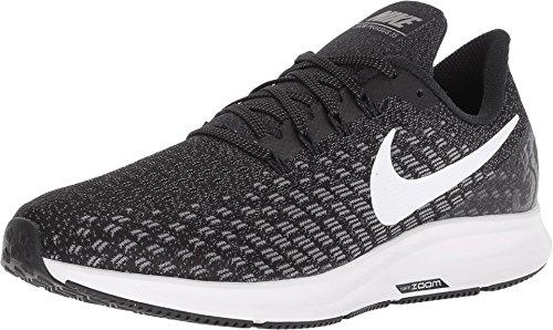 Nike Men's Air Zoom Pegasus 35 Running Shoe Wide 4E Black/White/Gunsmoke Oil Size 12 Wide 4E