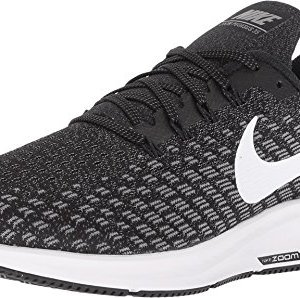 Nike Men's Air Zoom Pegasus 35 Running Shoe Wide 4E Black/White/Gunsmoke Oil Size 12 Wide 4E