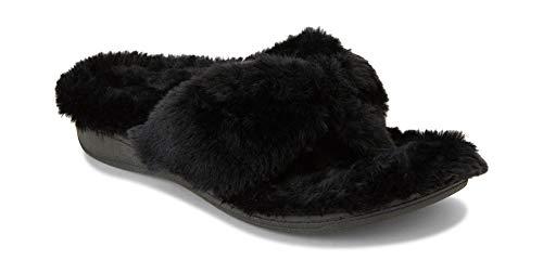 Vionic Women's Indulge Gracie Toe-Post Plush Slipper