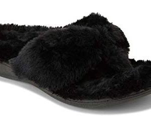 Vionic Women's Indulge Gracie Toe-Post Plush Slipper