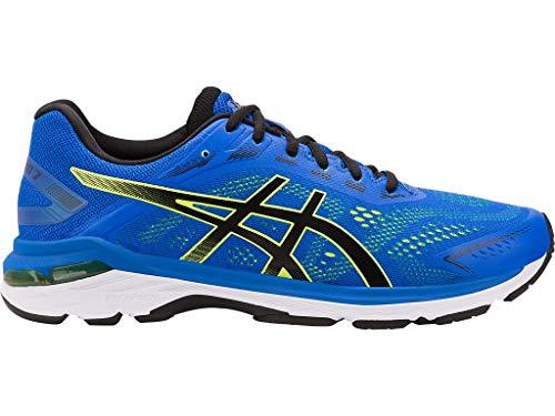 ASICS Men's Running Shoes, 10M, Illusion Blue/Black