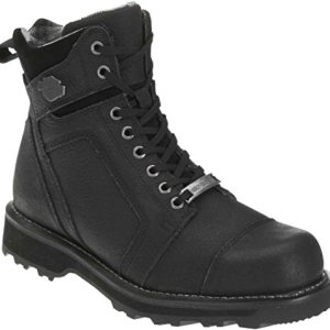 Harley-Davidson Men's Carter Black 6.00-Inch Motorcycle Boots