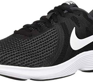 Nike Men's Revolution 4 Running Shoe, Black/White-Anthracite