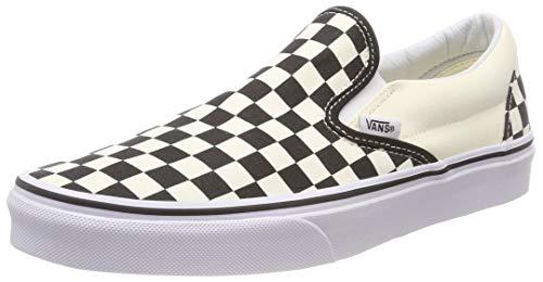 Vans Adult Slip-On Core Classics, Black and White