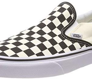 Vans Adult Slip-On Core Classics, Black and White